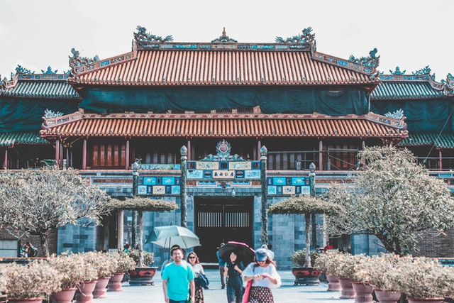Palace in the Imperial City of Hue
